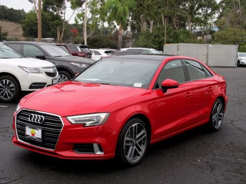 Pre-Owned 2017 Audi A3 2.0T Premium FrontTrak 4D Sedan