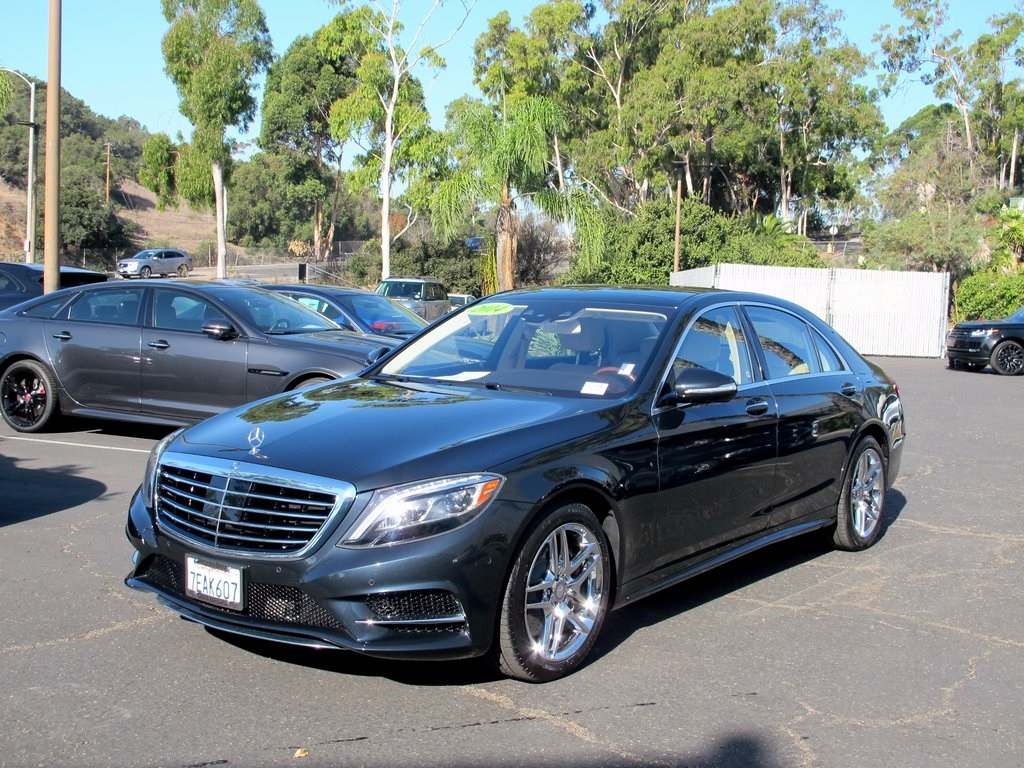 pre owned 2014 mercedes benz s class s550